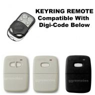 D. Keyring Remote Hand Transmitter Compatible With Digi-Code DigiCode BHT6 BHT6m HT6 & BOSS HT6M