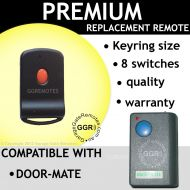 Door-Mate BLUE Button 8 Switch Compatible Remote Control Opener