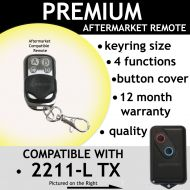 B. Garage Remote Control Compatible With BOSS BHT4 HT4 2211-L (TX)