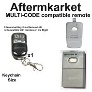 M. Remote Control Compatible With steel-line multi-code & Stanley Electronics 3089
