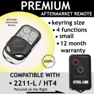 S. Garage Door Remote Control Compatible With HT4 / 2211-L (TX)