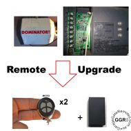 Dom Aftermarket Remote Add on Kit common relay power