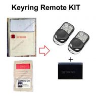 Matadoor Red Button Keyring Remote Control Compatible Upgrade Kit