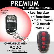 A. Opener Compatible With ACDC Remote Control RED Button