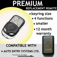 AUTO ENTRY SYSTEMS LTD Compatible Remote Control