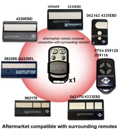 B. Garage Door Remote Control Compatible with B&D Billion Code 433.92mhz