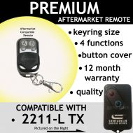 C. Garage Door Remote Control Compatible With Centurion 2211-l (TX)