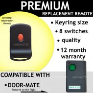 Door-Mate 700T Green Button 8 Switch Compatible Remote Control Opener