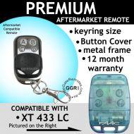 F. Remote Control Compatible with Blue FAAC TE 433 LC