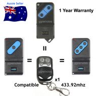 F. Remote Control compatible with FAAC TM433 -1 -2 -3 433.92mhz