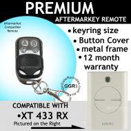 F. Remote Control Compatible with White FAAC XT 433 RX 787452
