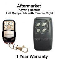 G. Automatic Gate Remote Control Compatible With GIBIDI 4 Button AU01660 AU01680
