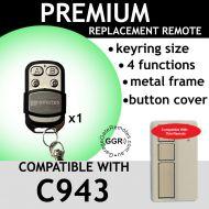 M. Garage Door Remote Control Compatible with C943