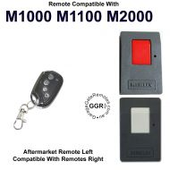 M. Remote Control Compatible with Model 1000 1100 2000