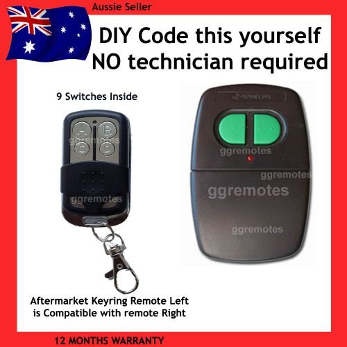 B. Remote Control Compatible With B&D Green Button HOMELINK 059740 / BDH-200 CAD602 N1134 Skylink