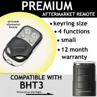 B. Garage Door Remote Control Compatible with BHT3 HT3
