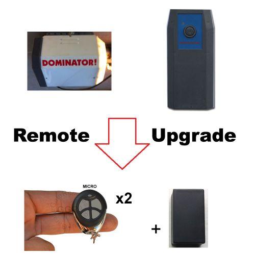 D. Garage Door Remote Control KIT Fits Dominator DOM503 DOM315 315mhz