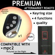 M. Garage Door Remote Compatible with MPC2 B&D  TX318