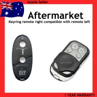 N. Remote Control Opener Compatible with BLACK Nice Very VR