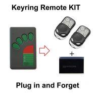 Garage Door Remote KIT Compatible with ATA Green Button TX-4A TX-4 TX4 TX04 N1854