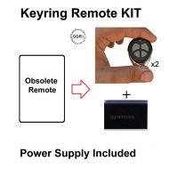 Universal Remote Add on Kit 2 wire + Power Supply