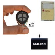 Aftermaket Remote Add On Kit Fits Gliderol Glidermatic Deluxe Old Cream Wall Box