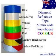 RED diamond  retro reflective adhesive tape